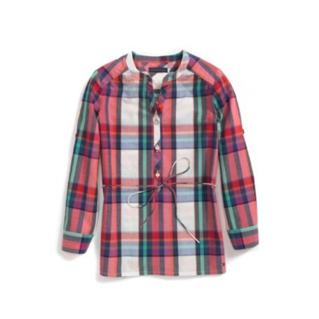 Image for PLAID TOP from Tommy Hilfiger USA