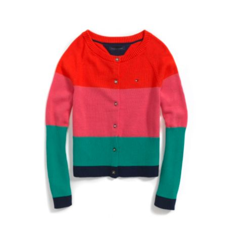 Image for STRIPE CARDIGAN from Tommy Hilfiger USA
