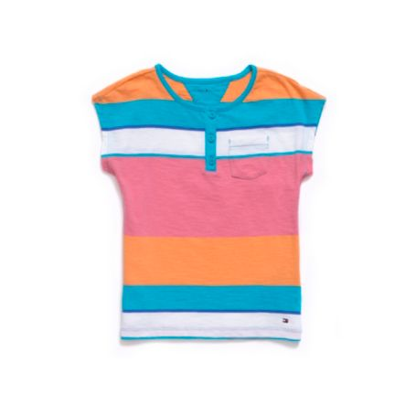 Image for SUNNY STRIPE HENLEY from Tommy Hilfiger USA