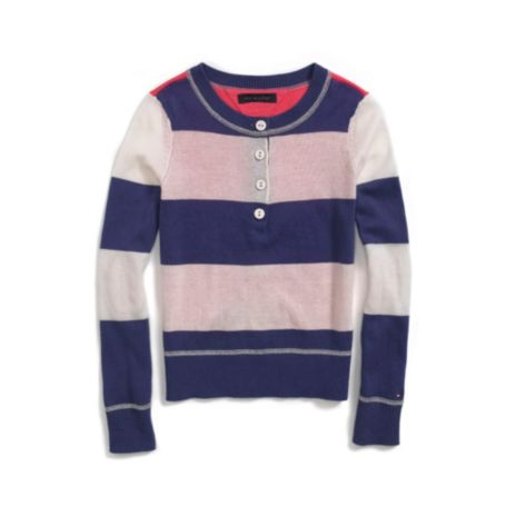 Image for STRIPED HENLEY from Tommy Hilfiger USA