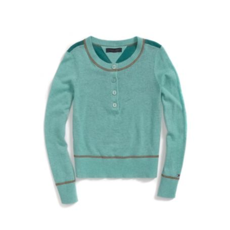 Image for SOLID HENLEY from Tommy Hilfiger USA