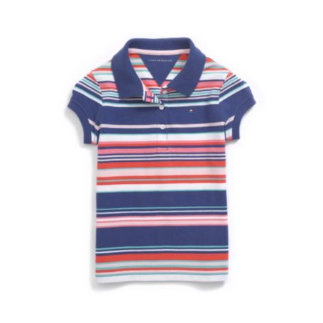 BRIGHT STRIPE POLO