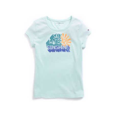 Image for SALT WATER GRAPHIC TEE from Tommy Hilfiger USA