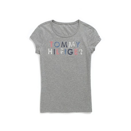 Tommy Hilfiger Retro Tee Tommy Hilfiger Big Girls' Tee. A Girlish Tee With Our Retro Signature, Old-School Cool For Sure. · 100% Cotton.· Custom Graphic, Tiny Tommy Flag At Cuff.· Machine Washable.· Imported.