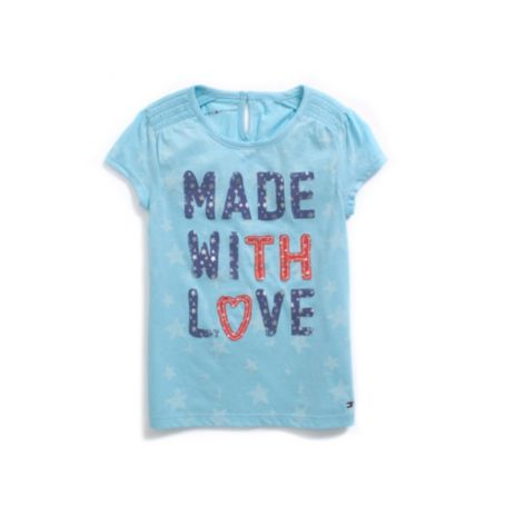 Image for MADE WITH LOVE TEE from Tommy Hilfiger USA