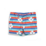 FLOWER STRIPE SHORT $22.99