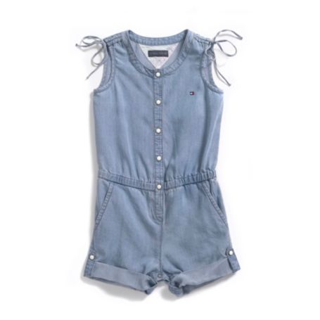 Image for DENIM ROMPER from Tommy Hilfiger USA