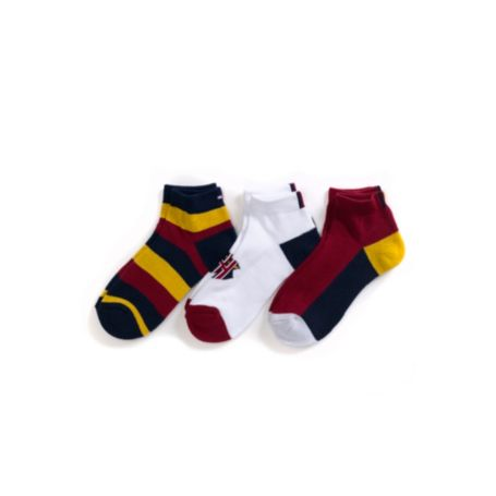 Image for QUARTER TOP SOCKS 3PK from Tommy Hilfiger USA