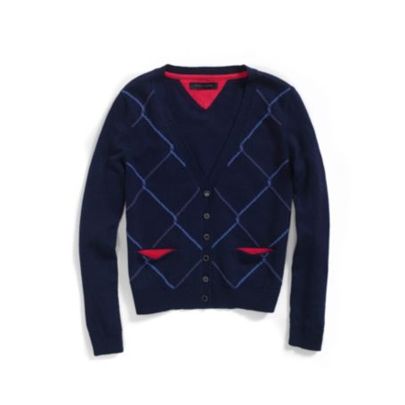 Image for ARGYLE  CARDIGAN from Tommy Hilfiger USA