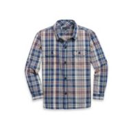 ROLL-SLEEVE SUMMER PLAID SHIRT $32.50