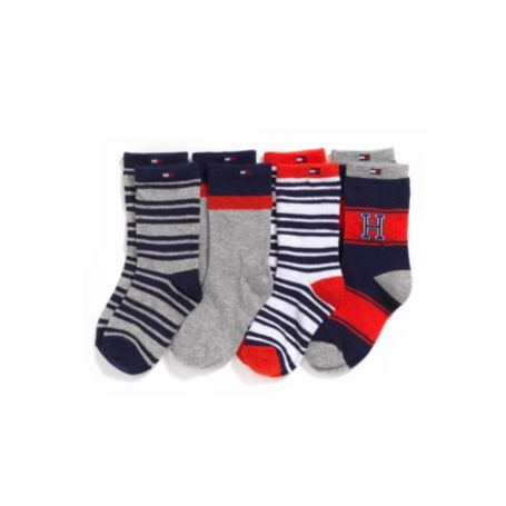 Image for 4 PACK SOCKS from Tommy Hilfiger USA