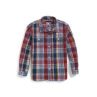 UPSTATE ROLL-SLEEVE CAMP SHIRT $32.50
