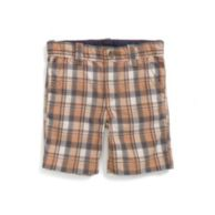 PLAID BERMUDA SHORT $32.50