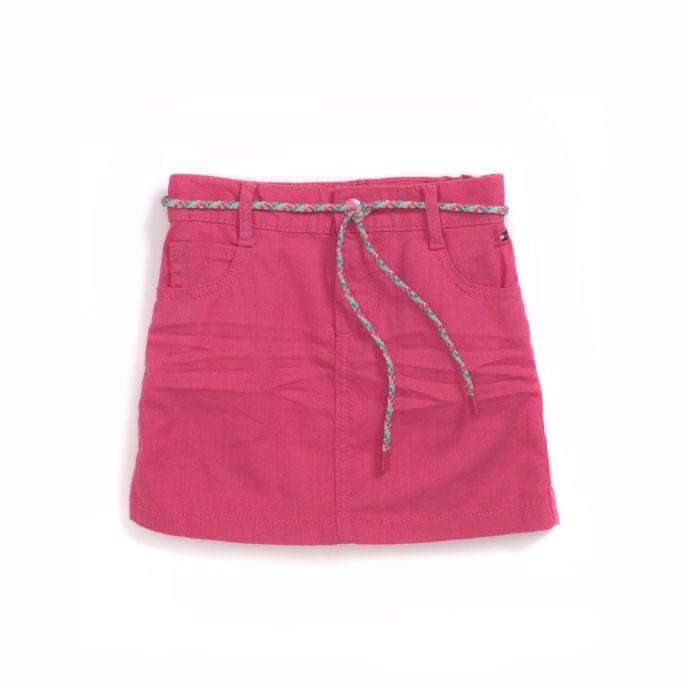 hilfiger s pink denim skirt ebay