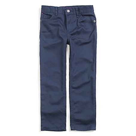 Tommy Hilfiger Skinny Jeans - Blue Indigo Tommy Hilfiger Little Boys' Jean.•Outlet Exclusive Style.•100% Cotton. •Internal Adjustable Waist Tabs. •Machine Washable.•Imported.