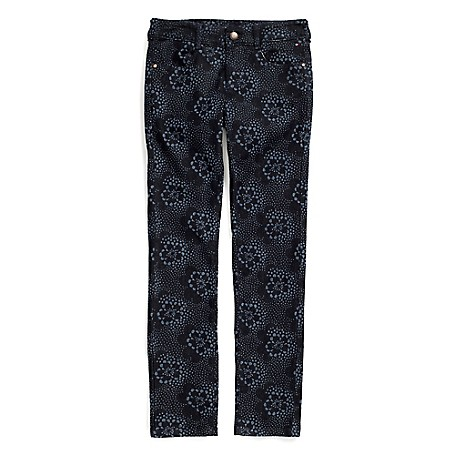 Tommy Hilfiger Patterned Skinny Jeans - Fez Wash Tommy Hilfiger Big Girls' Jean. Our Skinny Jeans Aren't Just Cool, Extra Stretch Makes Them Totally Comfortable Too. Designed With The Same Attention To Detail As The Jeans We Make For Mom, They're Just Smaller. • 98% Cotton, 2% Elastane.• Internal Adjustable Waist Tabs, Tiny Tommy Flag At Hip.• Machine Washable.• Imported.