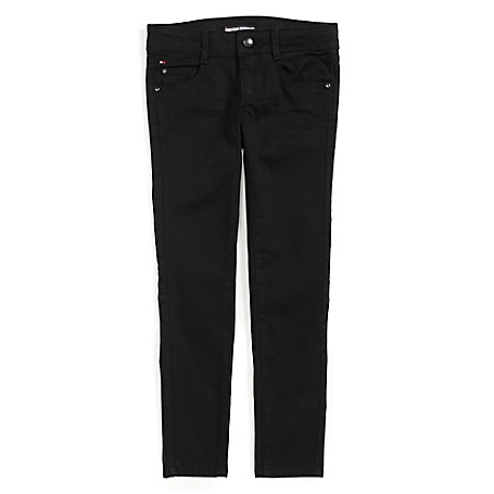 Tommy Hilfiger Skinny Jeans - Meteorite Tommy Hilfiger Big Girls' Jean.•Outlet Exclusive Style.•98% Cotton, 2% Elastane. •Machine Washable.•Imported.