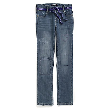 Tommy Hilfiger Straight Jeans - Fredo Wash Tommy Hilfiger Big Girls' Jean.•Outlet Exclusive Style.•100% Cotton.•Machine Washable.•Imported.