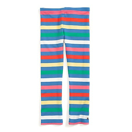 Tommy Hilfiger Stripe Legging - French Blue/Multi Tommy Hilfiger Little Girls' Pant.• Outlet Exclusive Style.• 95% Cotton, 5% Elastane.• Machine Washable.• Imported.