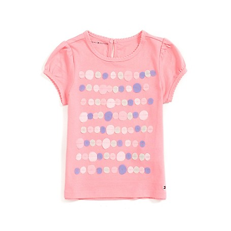Tommy Hilfiger Fashion Tee - Fresha Pink Tommy Hilfiger Little Girls' Tee.• Outlet Exclusive Style.•100% Cotton. •Machine Washable.•Imported.