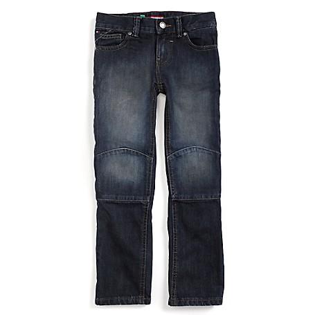 Tommy Hilfiger Final Sale- Slim Jeans - Harry Tommy Hilfiger Big Boys' Jean.• Outlet Exclusive Style.• 100% Cotton.• Internal Adjustable Waist Tabs.• Machine Washable.• Imported.