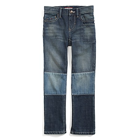 Tommy Hilfiger Final Sale- Straight Jeans - Jordan Tommy Hilfiger Big Boys' Jean.•Outlet Exclusive Style.•100% Cotton. •Internal Adjustable Waist Tabs. •Machine Washable.•Imported.
