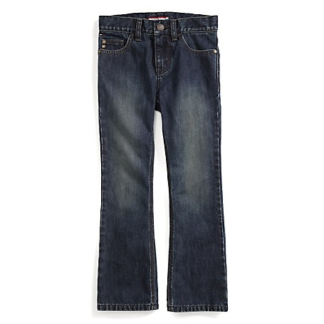 Tommy Hilfiger Final Sale- Faded Boot Jeans - Harry Tommy Hilfiger Big Boys' Jean.• Outlet Exclusive Style.• 100% Cotton.• Internal Adjustable Waist Tabs.• Machine Washable.• Imported.