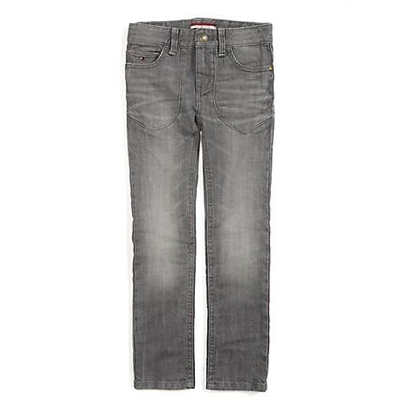 Tommy Hilfiger Final Sale- Skinny Jeans - Quartz Tommy Hilfiger Big Boys' Jean.•Outlet Exclusive Style.•99% Cotton, 1% Elastane. •Internal Adjustable Waist Tabs. •Machine Washable.•Imported.