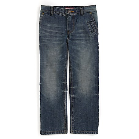 Tommy Hilfiger Straight Jeans - Taxi Tommy Hilfiger Little Boys' Jean.•Outlet Exclusive Style.•100% Cotton. •Internal Adjustable Waist Tabs. •Machine Washable.•Imported.