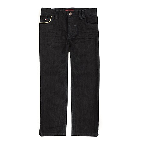 Tommy Hilfiger Straight Jeans - Richard Tommy Hilfiger Little Boys' Jean.•Outlet Exclusive Style.•100% Cotton. •Internal Adjustable Waist Tabs. •Machine Washable.•Imported.