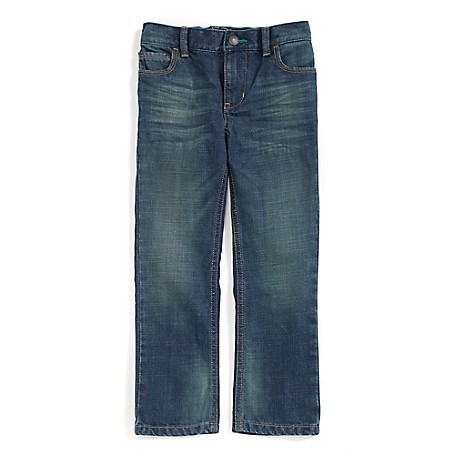 Tommy Hilfiger Straight Jeans - Zeus Tommy Hilfiger Little Boys' Jean.•Outlet Exclusive Style.•100% Cotton. •Internal Adjustable Waist Tabs. •Machine Washable.•Imported.
