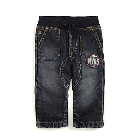 Tommy Hilfiger Pull-On Jeans - Harry Tommy Hilfiger Little Boys' Jean.•Outlet Exclusive Style.•100% Cotton. •Wide Elastic Waist. •Machine Washable.•Imported.