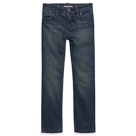 Tommy Hilfiger Final Sale- Straight Jeans - Dromon Tommy Hilfiger Big Boys' Jean.• Outlet Exclusive Style.• 100% Cotton.• Internal Adjustable Waist Tabs.• Machine Washable.• Imported.