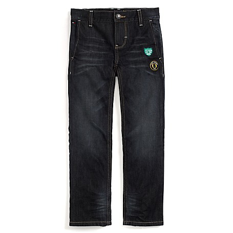 Tommy Hilfiger Straight Jeans - Ace Lake Tommy Hilfiger Big Boys' Jean.•Outlet Exclusive Style.•100% Cotton.•Internal Adjustable Waist Tabs.•Machine Washable.•Imported.