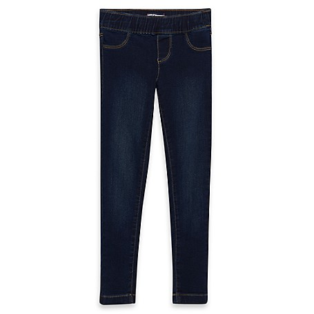 Tommy Hilfiger Skinny Jeans - Dk Wash Tommy Hilfiger Big Girls' Jean.•Outlet Exclusive Style.•77% Cotton, 21% Synthetic, 2% Elastane.•Internal Adjustable Waist Tabs.•Machine Washable.•Imported.