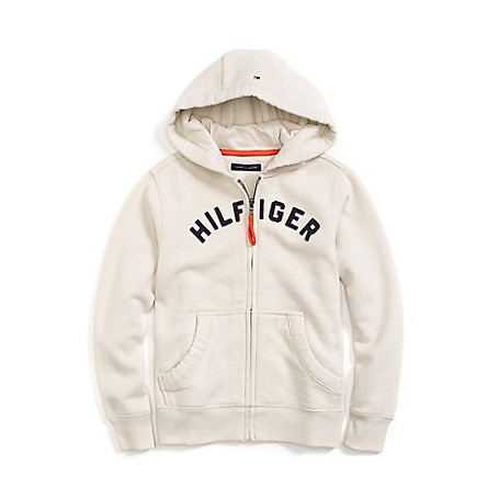 Tommy Hilfiger Signature Hoodie - French Blue Tommy Hilfiger Big Boys' Fleece.•Outlet Exclusive Style.•75% Cotton, 25% Synthetic. •Machine Washable.•Imported.