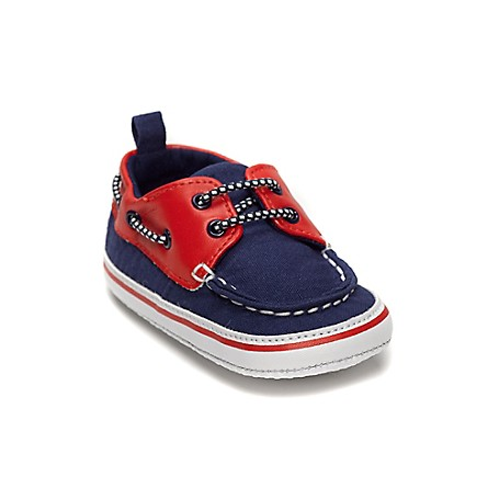 Tommy Hilfiger Boat Shoes Prewalker - Blue Depth Tommy Hilfiger Little Boys' Shoe. • Outlet Exclusive Style.• Cotton Upper.• Size 1 = 0-3 Months, Size 2 = 3-6 Months, Size 3 = 6-9 Months, Size 4 = 9-12 Months.• Imported.