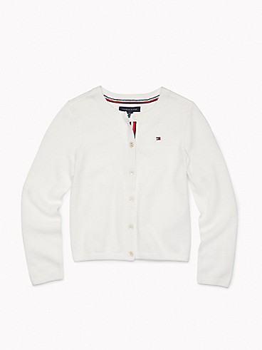 타미 힐피거 Tommy Hilfiger TH Kids Solid Cardigan