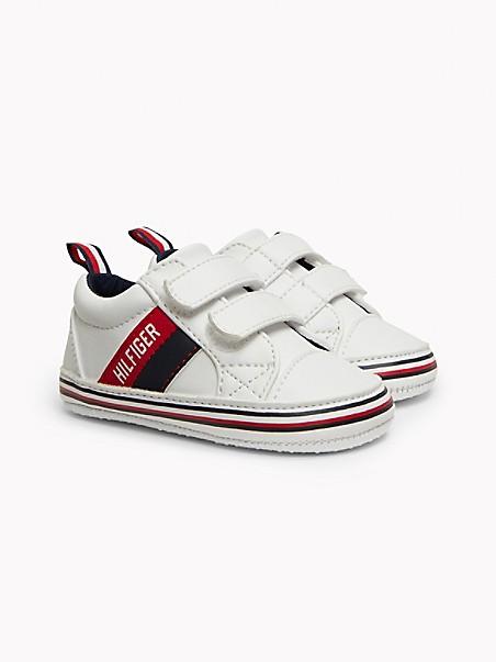 타미 힐피거 키즈 스니커즈 Tommy Hilfiger TH Baby Signature Stripe Sneaker