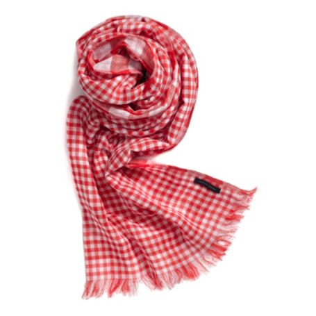 Image for DOUBLE GINGHAM SCARF from Tommy Hilfiger USA