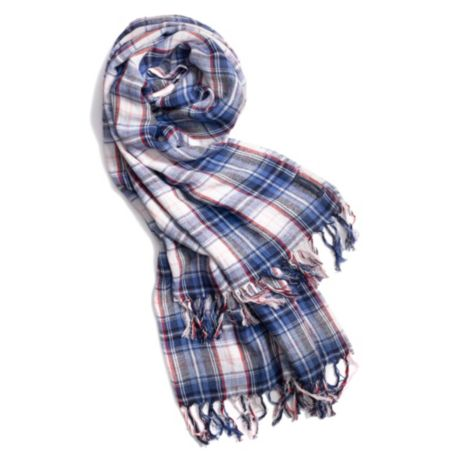 Image for GROVELAND CHECK SCARF from Tommy Hilfiger USA