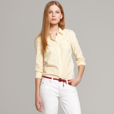 Image for CLASSIC STRIPE OXFORD SHIRT from Tommy Hilfiger USA