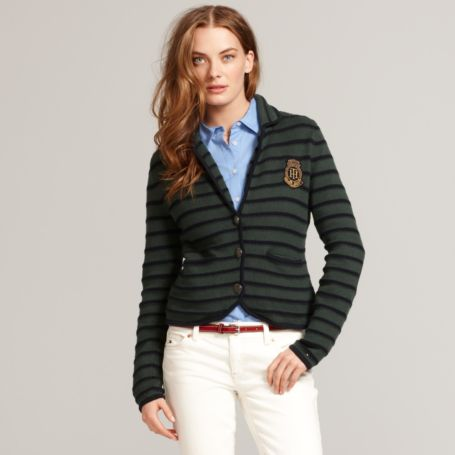 Image for STRIPED SWEATER BLAZER from Tommy Hilfiger USA