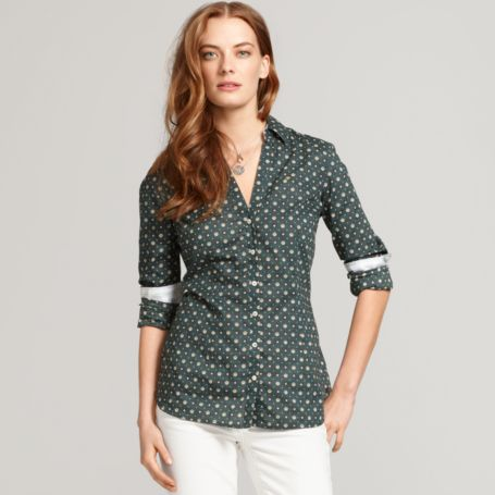Image for FOULARD PRINT SHIRT from Tommy Hilfiger USA