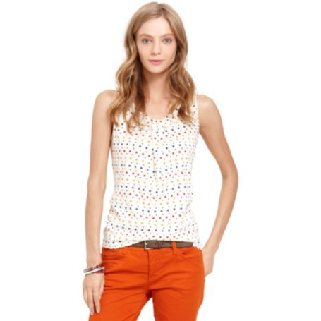 Image for SLEEVELESS KNIT TOP WITH BOW from Tommy Hilfiger USA