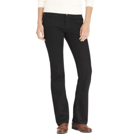 Image for MODERN FIT BOOTCUT JEAN - BLACK WASH from Tommy Hilfiger USA