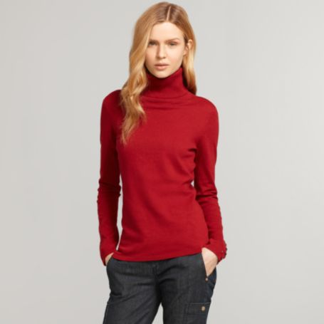 Image for COTTON/CASHMERE TURTLENECK from Tommy Hilfiger USA