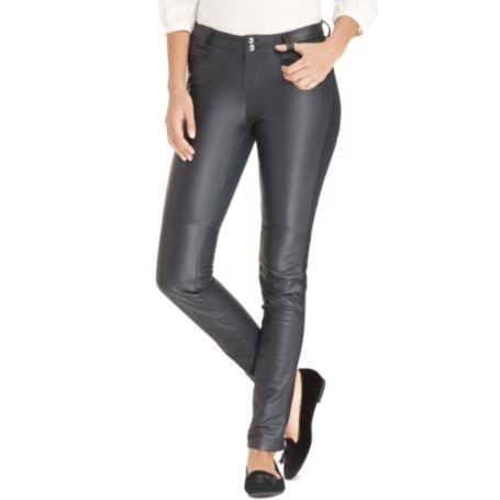 Image for LEATHER PANT from Tommy Hilfiger USA