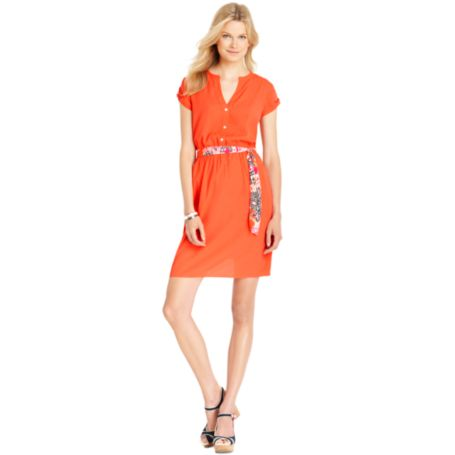 Image for SHORT SLEEVE DRESS from Tommy Hilfiger USA