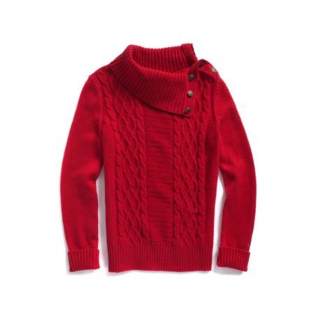 Image for CABLEKNIT TURTLENECK from Tommy Hilfiger USA